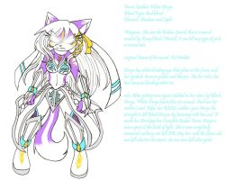 White Derya Goddess Ref by PhantomeDiclonius