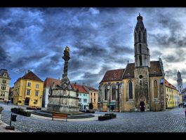 Main Square - Sopron by DS1985