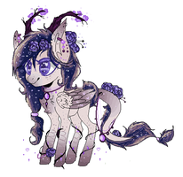 MLP Forest Pegasus Pony AUCTION (CLOSED) by KawaiiCaniball