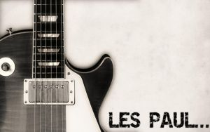 Les Paul Wallpaper by Meteor88