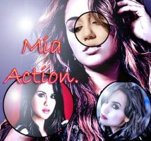 Action Mia by MajooBeautifull