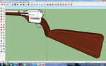 Revolver rifle for MMD WIP6 by MasterOfHelium