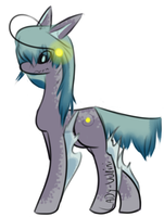 Angler Fangs Pony Adopt (Closed) by Lady-Vulpini