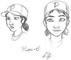 Clementine Practice (6?) without Visual References by DJ-black-n-white