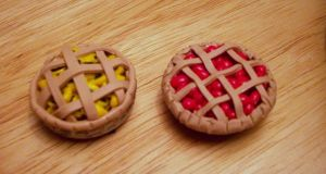 Polymer Clay Pies by ForgottenLullaby