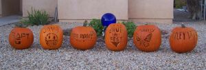 Crue Fest Pumpkins by blackshadow-triumph