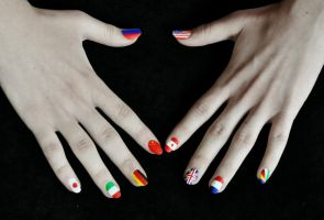 Fingernail Nations by MissMeggsie