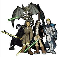 Star Wars RPG Characters by the-batcomputer