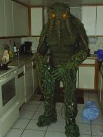 Man Thing Costume by dmringer