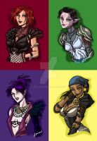 Dragon Age Pop Art by ADL-art