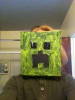 Creeper Mask by peopleface