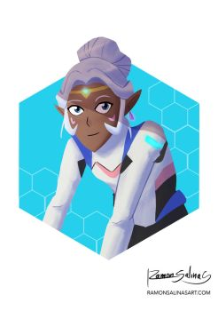 Voltron Legendary Defender - Princess Allura by ShadowGear65