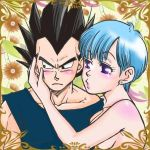 vageta and bulma by libuki