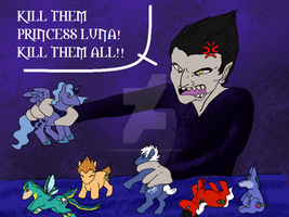 Kill Them Princess Luna Kill Them All Mar 2013 by CadaverousDingo