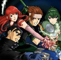 Clear Warriors VCD Cover by ncus