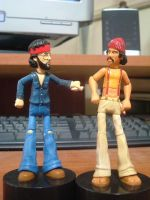 Man and Pedro by IronOutlaw56