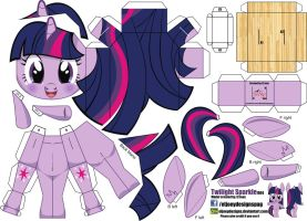 Twilight Sparkle (Joinys 004) by ELJOEYDESIGNS
