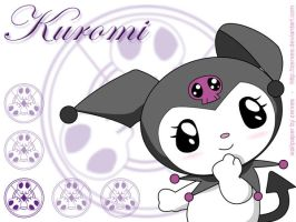 Kuromi Wallpaper I by Zerxes