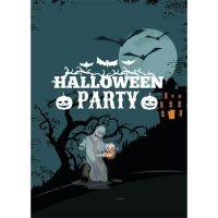 Free vector Halloween party template illustration by cgvector
