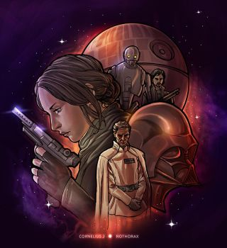 Star Wars: Rogue One by catchingspiders