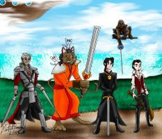 Heroes of Venengalia by cheddarpaladin