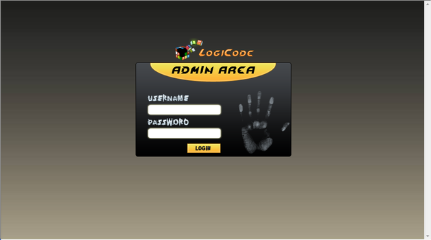 logiCode Admin Login Page by elruso