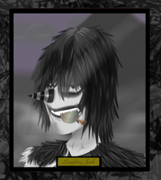 Creepy-Portrait_Laughing Jack by Masked-carder
