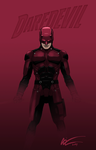 Daredevil Cowl + Body Armour Concept by niz-m