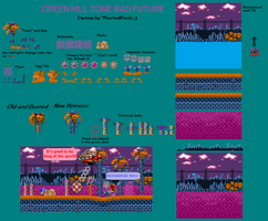 Green Hill Zone   Bad Future dev version by PicsAndPixels
