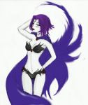 Raven's new uniform colored by MacAttackLovesAnime