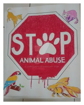Stop Animal Abuse by chrissar17