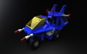 LEGO 6926 space vehicle by zpaolo