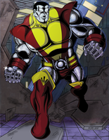 Colossus colors by hulkdaddyg