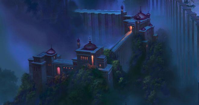 Sinbad, Legend of the Seven Seas Architecture by NathanFowkesArt