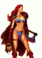 Red Sonja by thesilvabrothers