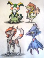 Pokesonas Concepts by Breeoche