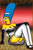 Marge French Maid by FTO-Sete