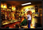 The Barbershop by Lucifer-Z