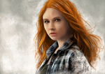 Amy Pond by Ohnhai