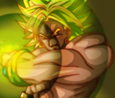 Broly Ultimate Move by ShynTheTruth