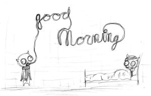 gud murning by red-thorn