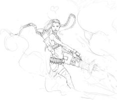 Jinx Pre-Color by CotyP