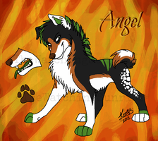 Angel Ref by MatrixPotato