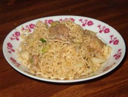 Cambodian stir fried noodles by bory