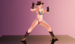 Tina Armstrong - Cowgirl Showtime - 04 by HentaiAhegaoLover