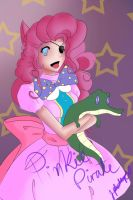 Pinkie Pie and Gummy WIP [Pirate] by MangaCrazy101