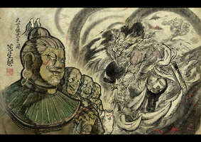 Asura's Wrath Interval Drama 3 by sidneymadmax