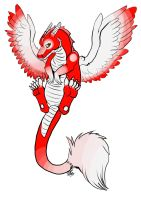 red dragon for sale by TheArtyMadCow