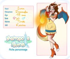 Fiche personnage : Swan~ by Naolya