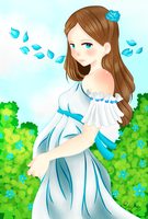 Lyanna in the Tower by rhaelle